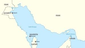 Carte du Golfe persique. Image du domaine public.