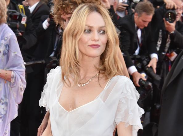 Vanessa Paradis au festival de Cannes (getty Images)