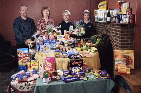 Royaume-Uni : la famille Bainton. 226€ pour deux adultes et deux enfants.