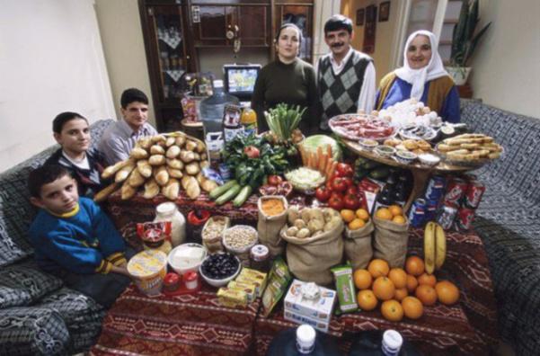 Turquie : la famille Celiks. 129€ pour quatre adultes et deux enfants.