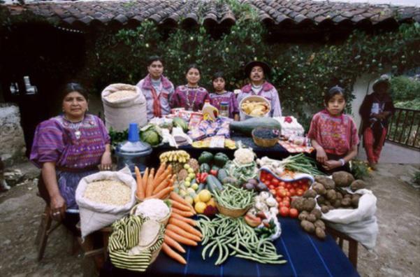 Guatemala : la famille Mendoza. 67€ pour deux adultes et deux ados.