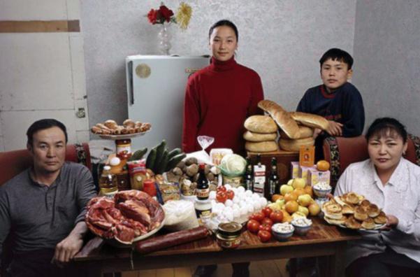 Mongolie : la famille Batsuuri. 35€ pour deux adultes et deux ados.