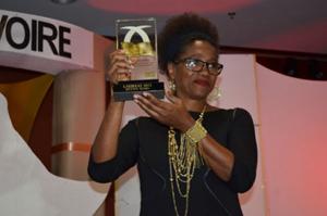 Joséphine Kouadio du journal Fraternité Matin de Côte d'Ivoire
