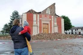 La terra trema in Emilia Romagna