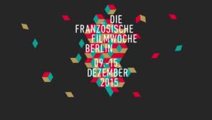 Affiche officielle de la 15° édition de la semaine du film français