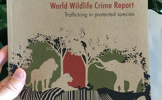 "Le premier ""World Wildlife Crime Report"", publié le 24 mai 2016, à Vienne. Photo (c) CITES"