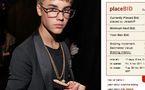 Johnson, le serpent de Justin Bieber aux enchères