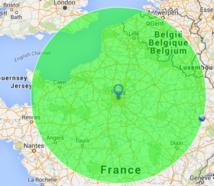 Tout vient à moins de 250 km de Paris.