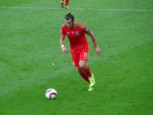 Le Gallois Gareth Bale, une des rares stars du tournoi à tenir son rang