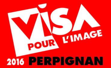 L'affiche du festival (c) Visa pour l'image. Cliquez ici pour accéder au site