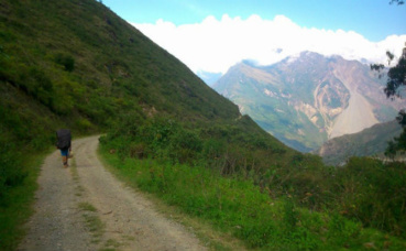 Sur la route du Choquequirao. Photo (c) Lara Levy