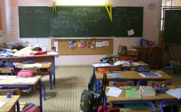 Salle de classe d'une école primaire. Photo (c) Clio