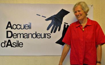 Jacqueline Leininger, présidente & cofondatrice de l'ADA. Photo (c) Anaïs Mariotti