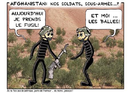 Nos soldats en Afghanistan ...