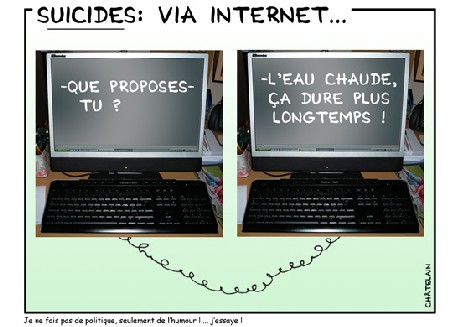 Suicides via internet ...
