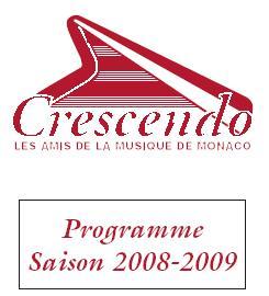 Programme Crescendo Monaco