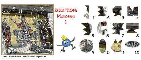 SOLUTION JEU du 29 septembre 2008