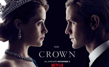 "Affiche de la série ""The Crown"". Photo © Netflix"