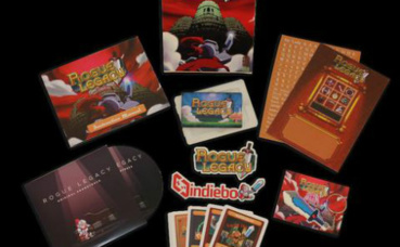 Le contenu de l'édition collector Indiebox de Rogue Legacy. Photo © Indiebox