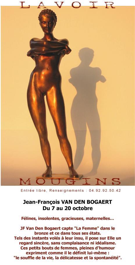 MOUGINS - Expo Jean-François VAN DEN BOGAERT