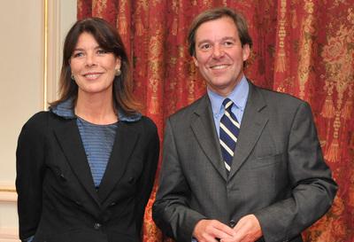 SAR la Princesse Caroline de Hanovre et Jérôme Garcin - Photo (c) Charly Gallo CDP
