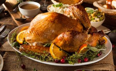 Dinde de Thanksgiving. Photo (c) Inmagine, publiée avec l'autorisation du détenteur des droits.