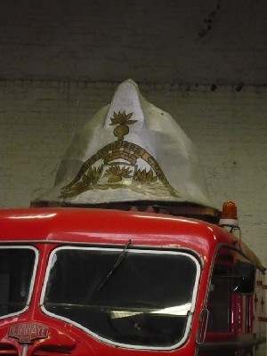 Visite à l'AUTO-POMPE, musée des Pompiers à Wasquehal (Nord)
