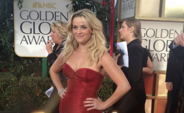 Reese Witherspoon aux Golden Globes 2012. Photo (c) Jenn Deering Davis