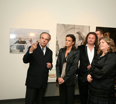 L'exposition vient d'être inaugurée par SAS la Princesse Stéphanie (c) DR