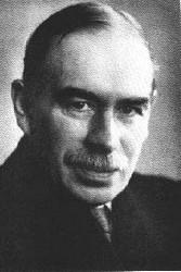 John Maynard Keynes, célèbre économiste anglais