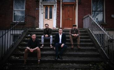 Les quatre membres de Pine Marten. Photo courtoisie (c) DR