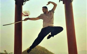 Entrainement de Kung-Fu. Photographie (c) Laurent Paiser