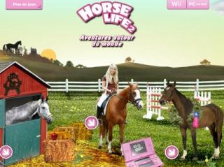 Lancement du site officiel de 'Horse Life 2 Aventures autour du monde'