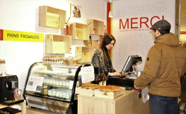"""Épicerie """"La Bonne Pioche"""" à Grenoble. Photo (c) Anaïs Mariotti"""