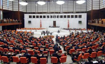 Grande Assemblée nationale de Turquie. Photo (c) Yıldız Yazıcıoğlu.