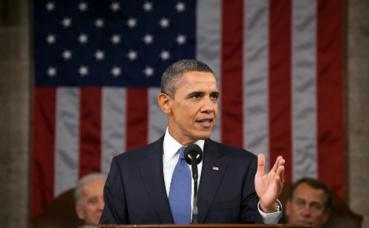 Barack Obama, 44e président des Etats-Unis. Image du domaine public.