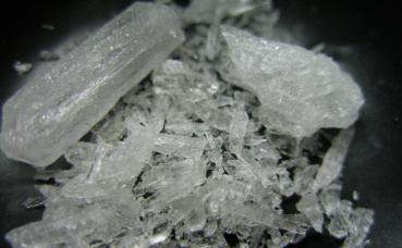 "Métamphétamine, drogue dont s'inspire le ""shabu"". Photo (c) Radspunk"