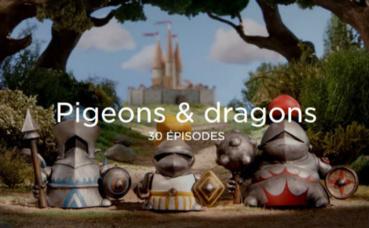 Ecran d'accueil de la série sur le site Arte creative. Cliquez ici pour y accéder