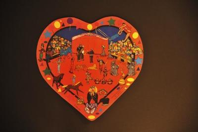 Cœurs en 3 D par « Le Peintre des Cinq continents »