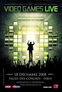 Video Games Live, 18 décembre 2008, Palais des Congrès, Paris