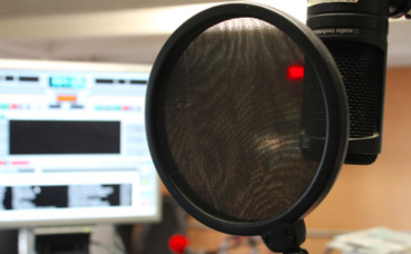 Studio de Radio Balistiq. Photo © Gaspard Claude