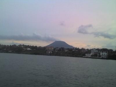 Vue de Goma et d'ailleurs