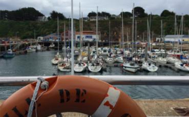 Port Tudy à l'île de Groix. Photo (c) Gaspard Claude