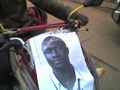 Marche pour Didace Namujimbo à Bukavu
