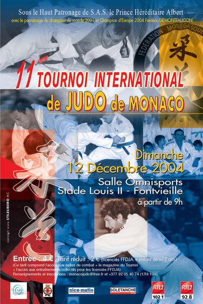 15e Tournoi International de judo de Monaco – 4e Trophée Adidas