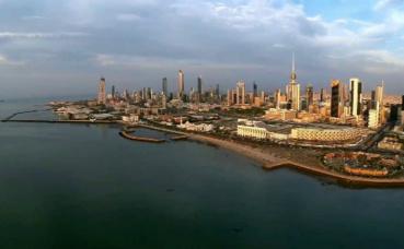 Vue aérienne de Koweït City. Photo (c) Ali Younis.