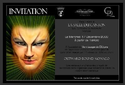 Exposition Calendrier Outward Bound Monaco...