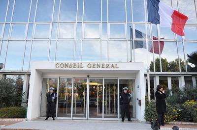 CONSEIL GENERAL - ERIC CIOTTI  ELU A LA PRESIDENCE