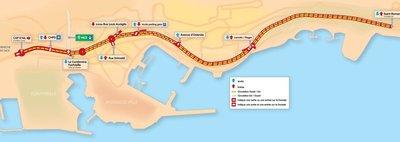 Inauguration: Nouveau boulevard vers le tunnel Rainier III