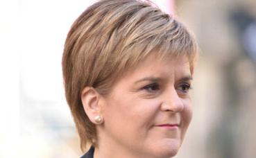 Nicola Sturgeon, Première ministre d'Écosse depuis le 20 novembre 2014. Photo (c) Kenneth Halley.